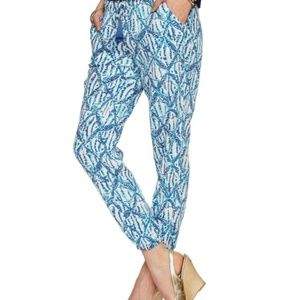 Lilly Pulitzer Piper pant - Sparkling Blue Hook Up
